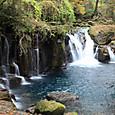 菊池渓谷の滝