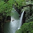 九州高千穂の滝