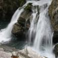 三条の滝(八釜の甌穴)