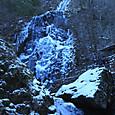 白猪滝の氷瀑