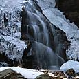 白糸の滝公園の小滝