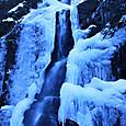 白糸の滝の氷瀑